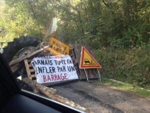 Les barricades des zadistes